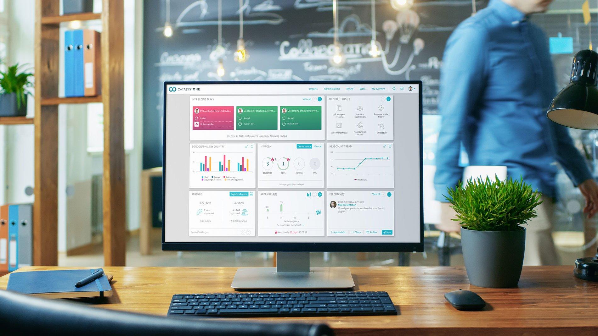 Monitor-screen