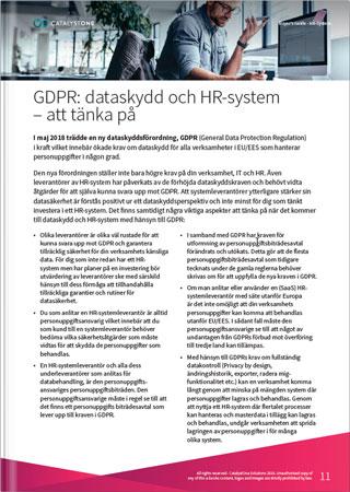 GDPR och datasäkerhet