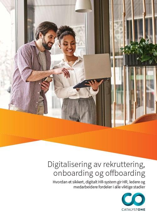 Digitalisering av rekruttering, onboarding og offboarding